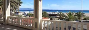 front sea terrace