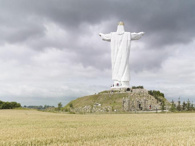 8 Christ the King. Świebodzin, Poland, 36 m (120 ft). Built in 2010