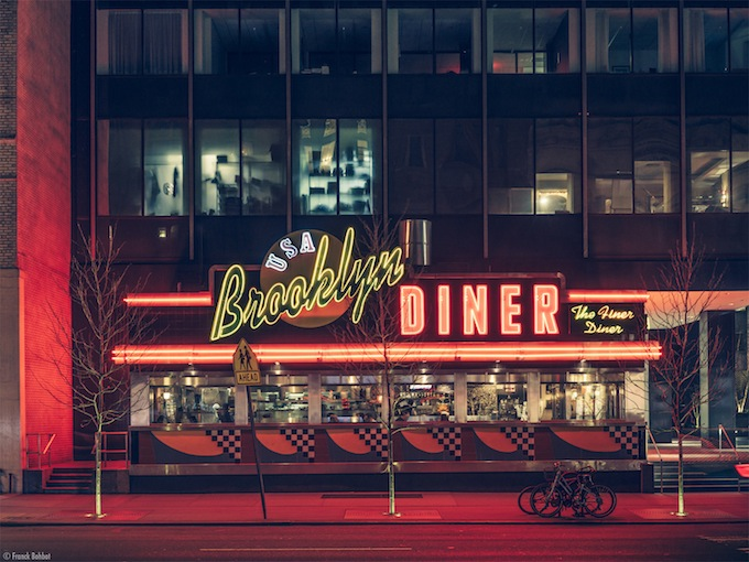 Brooklyn Diner, New York, NY  _ © Franck Bohbot