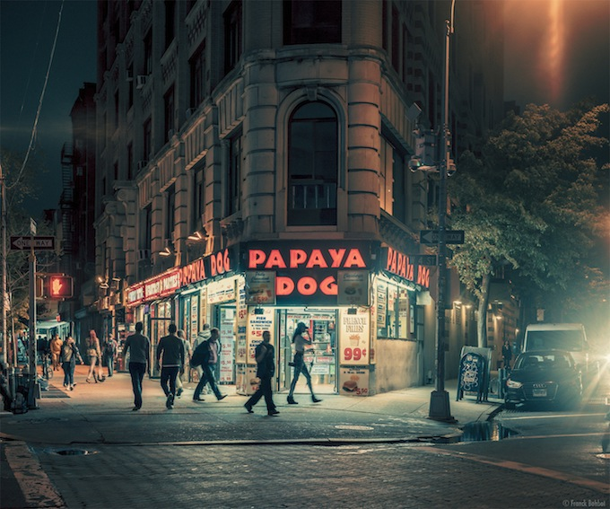 Papaya Dog, New York, NY  _ © Franck Bohbot
