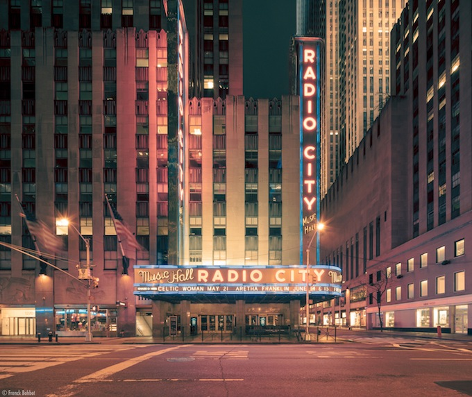 Radio City Music Hall #1, New York, NY, 2014  _ © Franck Bohbot
