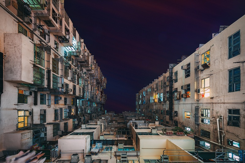 Peter_Stewart_Stacked_Hong_Kong_Quarry_Bay_Buildings