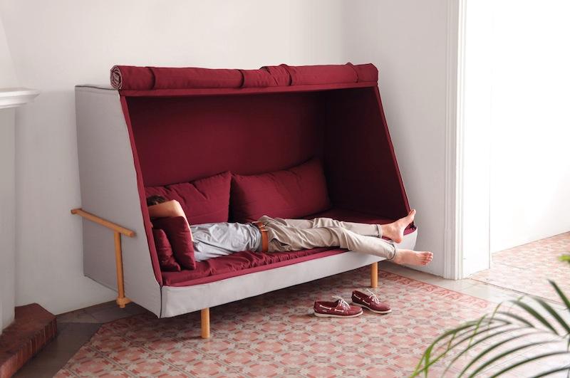 Dreifaltigkeit Der Behaglichkeit Bett Sofa Und Hohle In Einem I Ref
