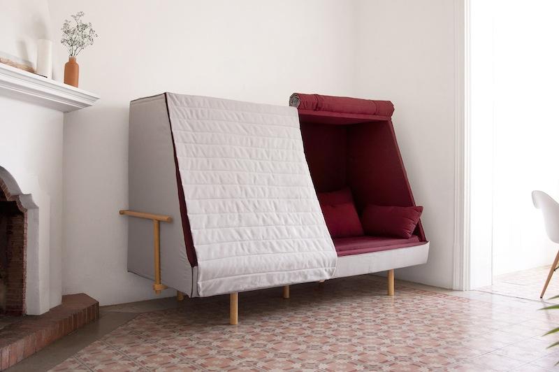 dreifaltigkeit der behaglichkeit bett sofa und h hle in einem i ref. Black Bedroom Furniture Sets. Home Design Ideas