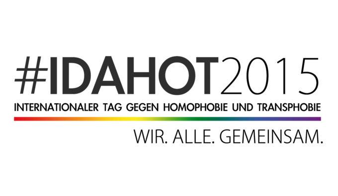 #IDAHOT2015 • WIR. ALLE. GEMEINSAM.