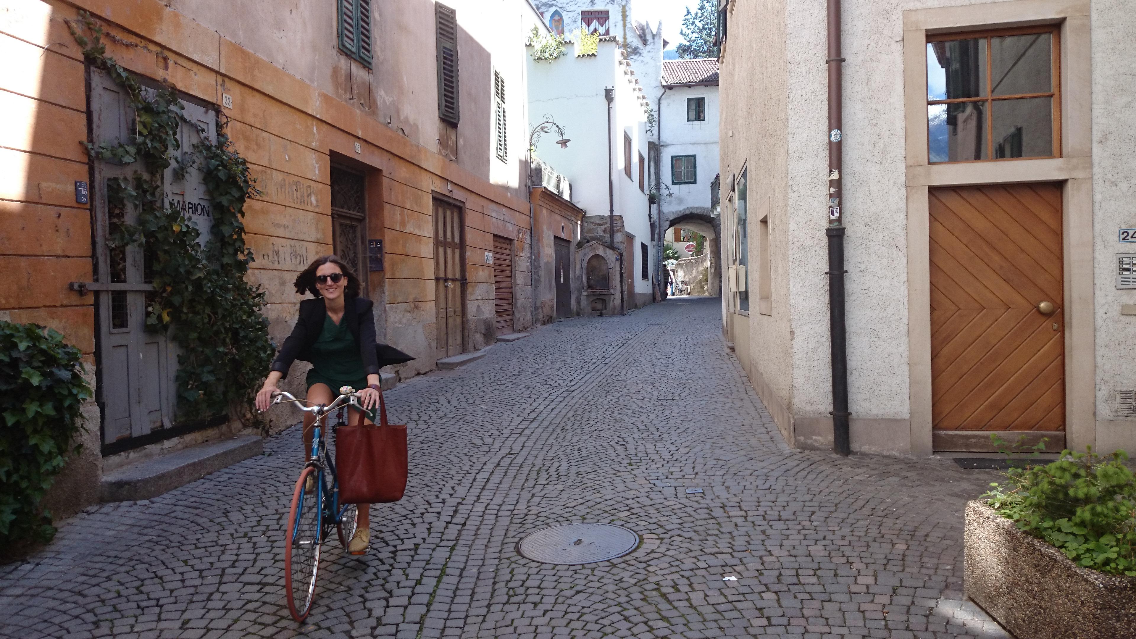 Radtour durch Steinach, Meran