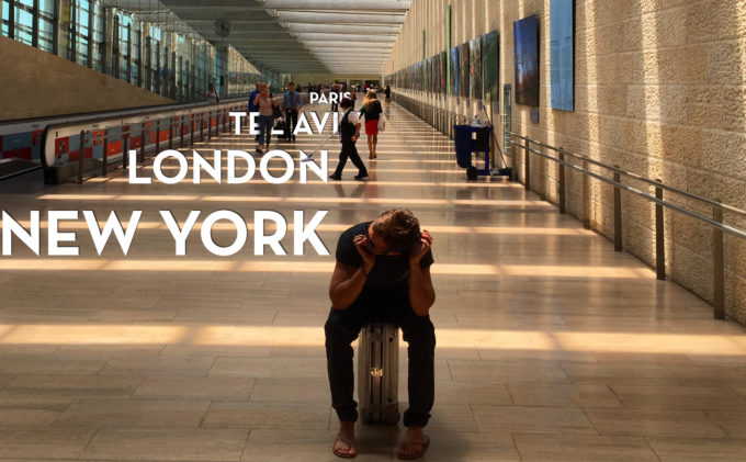 Tel Aviv. New York. London. Paris.