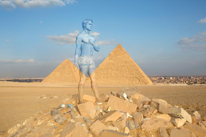 Giza Pyramids Web