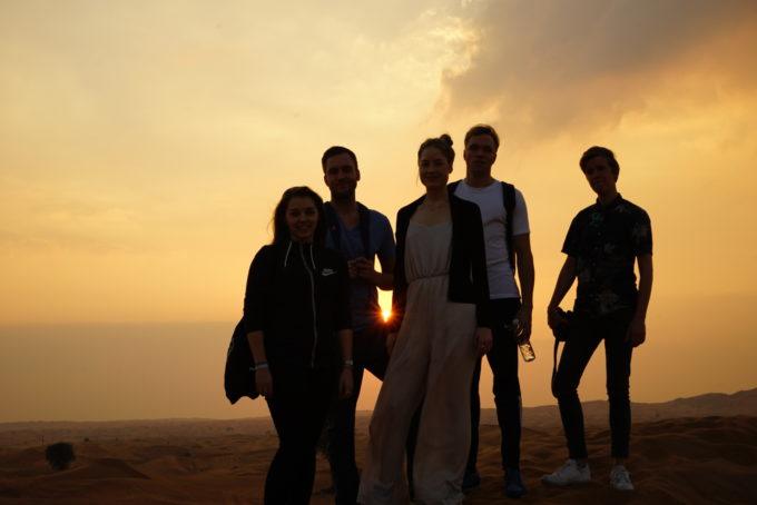 Sie alle haben ihre Grenzen überwunden: Franzi, Lucas,  Anna-Madita, Fynn und Michael