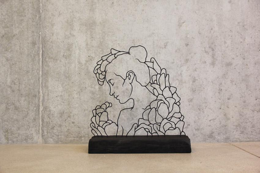 So wundervoll können Kunstwerke aus Draht aussehen | i-ref.de