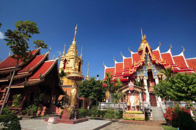 Pamaidang (Phrachaophormmaharaj) Temple at Chiang Mai