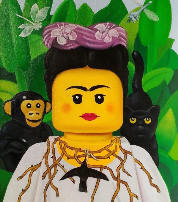 Stefano-Bolcato-Frida-Kahlo-self-portrait