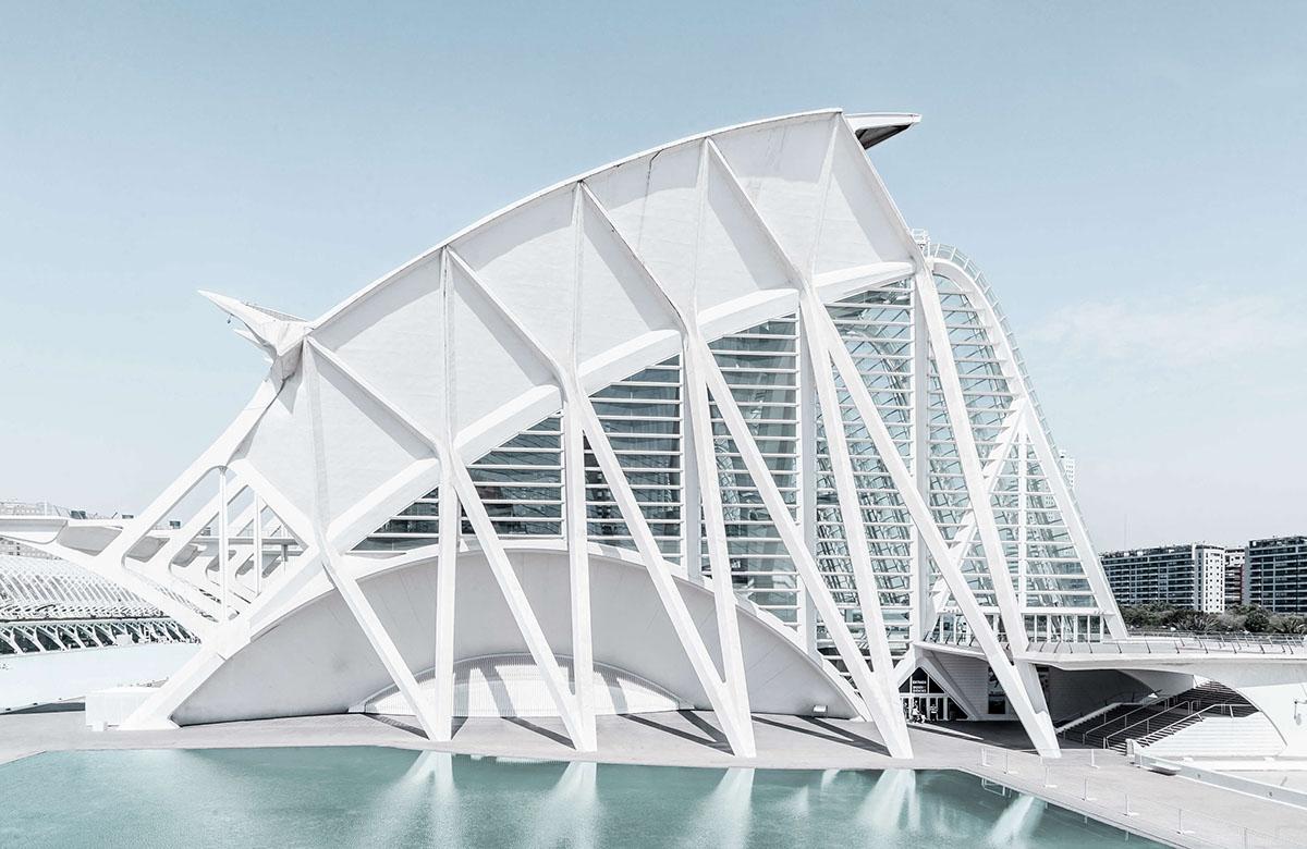Foto serie moderne architektur in valencia i for Architektur valencia