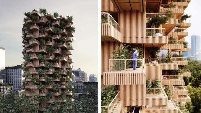 This-Wooden-High-Rise-Tower-Is-A-Giant-Treehouse-For-City-Dwellers